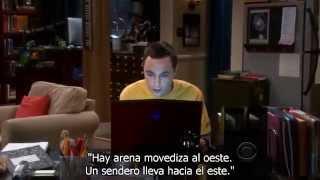 Sheldon juega al Zork (subtitulado)