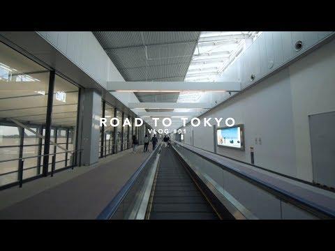 ROAD TO TOKYO - VLOG #01