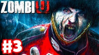 ZombiU - Gameplay Walkthrough Part 3 - Death and Zombies (Wii U Gameplay and Review)