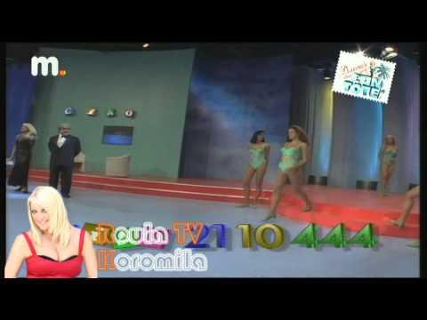 Roula Koromila TV - Ciao Ant1 (Aποστολος Γκλετσος,Δημητρης Πιατας,Αrmy of Lovers)
