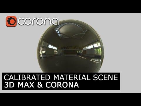 Calibrated Material Scene 3Ds Max & Corona Render | Visualization Architecture Tutorial