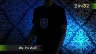 Zinoz | I shot the sheriff | disco T-shirt