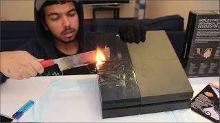 السكين الناري #2 | حرقت على 2000 درجة مئوية - حرقت سوني 4 !!