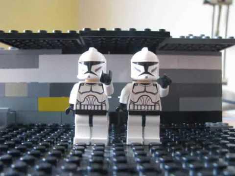 lego star wars klony na posterunku youtube. Black Bedroom Furniture Sets. Home Design Ideas