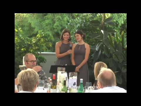 Disney Medley Bridesmaid Speech