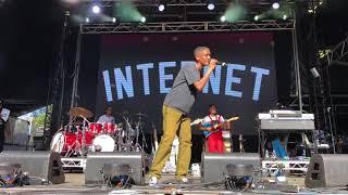 The Internet, Get Away, Laneway Festival, Sydney, February 2018