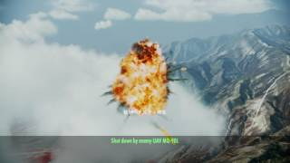 ACE COMBAT INFINITY Area B7R Dogfight Battle No.119