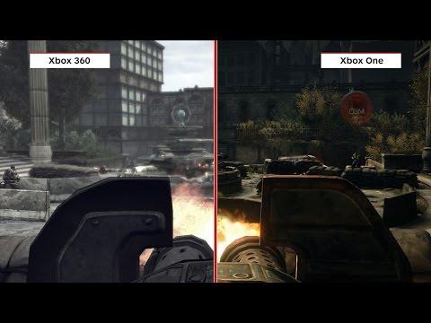 Gears of War Graphics Comparison: Ultimate Edition vs. Xbox 360