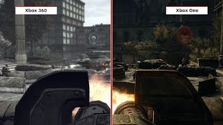 Gears of War Graphics Comparison: Ultimate Edition vs. Xbox 360