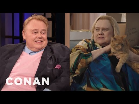 """How Louie Anderson Got The Role Of Zach Galifianakis' Mom On """"Baskets"""" - CONAN on TBS"""