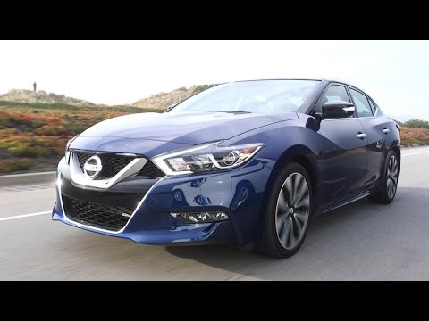 2016 Nissan Maxima The 4 Door Sports Car With A Straight Face On Cars Episode 83