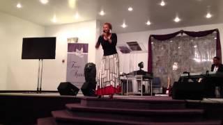 """Prophetess Bernadine Bell-McGhee - """"Unstop My Wells"""" Part 2"""