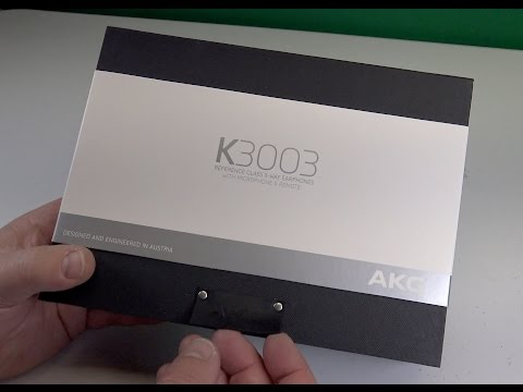 AKG K3003 Reference Class Earphones