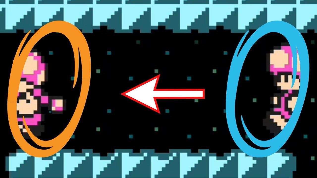 This Level RECREATES PORTAL in Mario Maker 2
