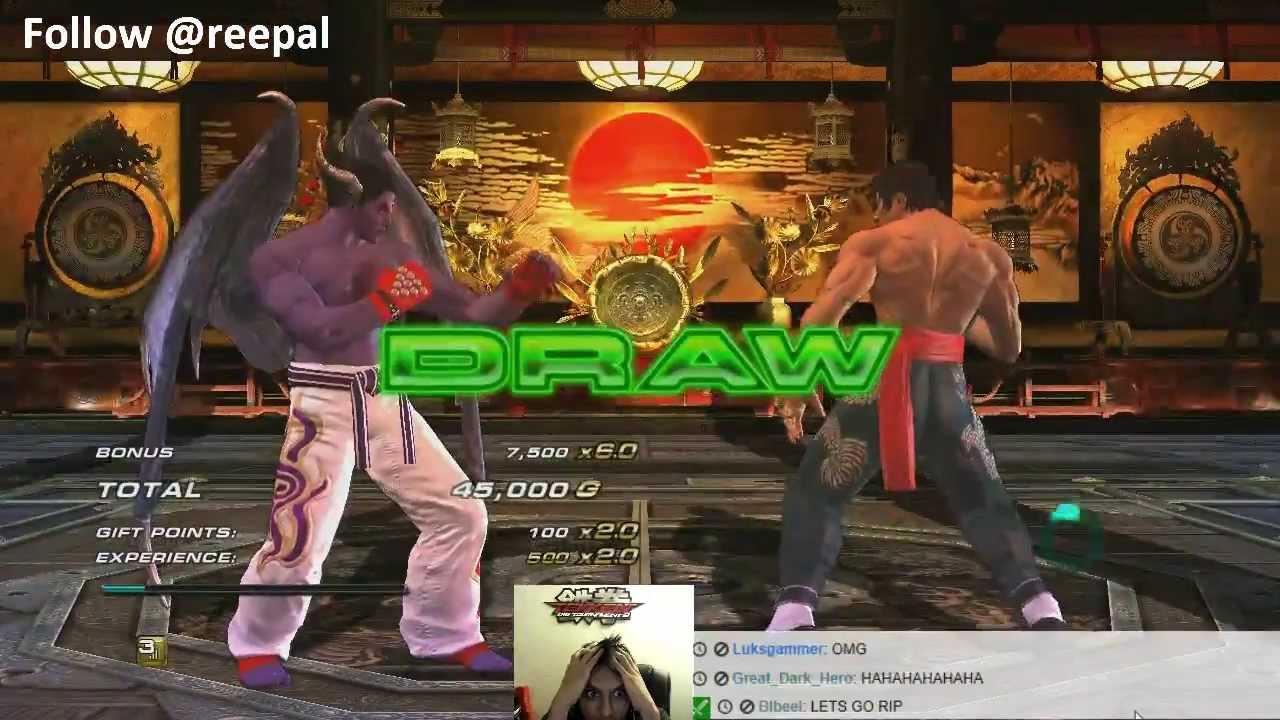 Tekken Revolution - Lasers Too Strong, Salt Even Stronger =( - YouTube