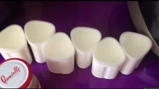 Готовим домашний йогурт в мультиварке Redmond M 150