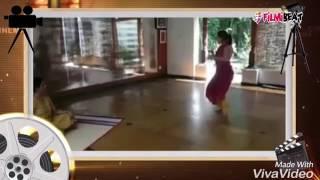 Aishwarya Dhanush's Bharatanatyam practice at home