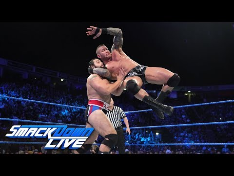 Randy Orton vs. Rusev: SmackDown LIVE, Nov. 7, 2017