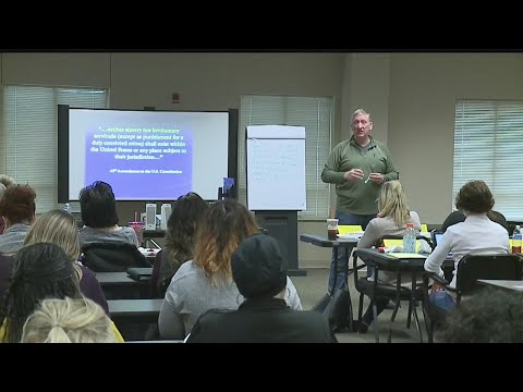 Local child welfare workers trained to stop human trafficking