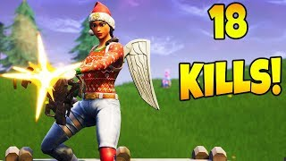 *HIGH KILL* SOLO WIN GAMEPLAY!! (Fortnite Battle Royale)