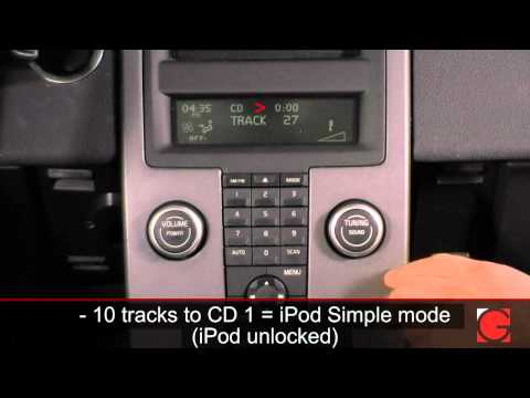 GROM-MST3 Volvo S40 2008 iPod Android USB Bluetooth Usage