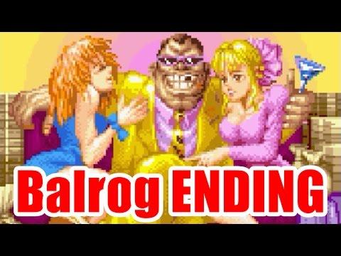 Balrog ENDING - SUPER STREET FIGHTER II Turbo