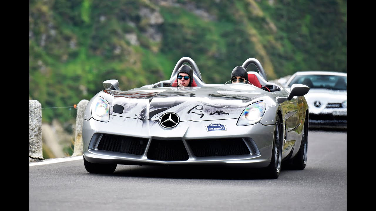 Slr Stirling Moss At Supercar Owner Circle Weekend Andermatt