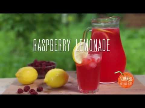 Raspberry lemonade how to make it at home