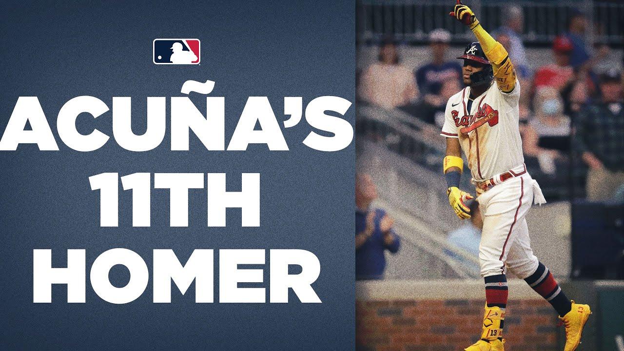 Ronald Acuña Jr.'s league-leading 11th homer!