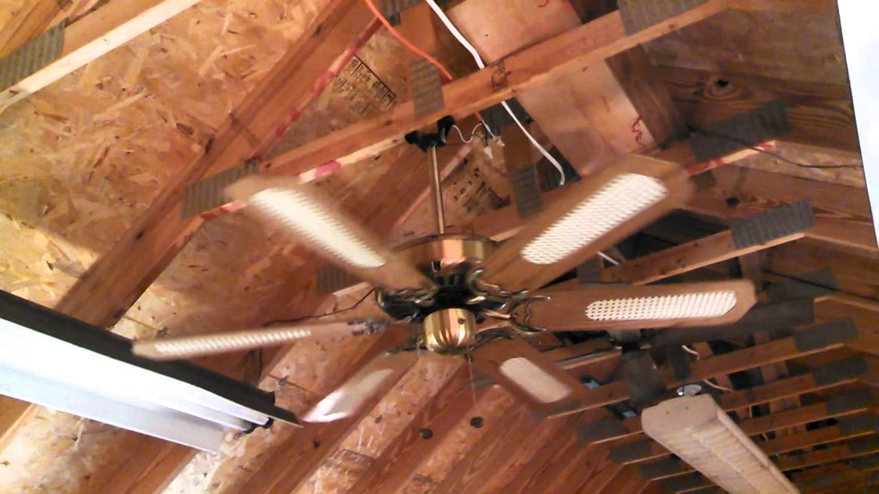 Sierra Ceiling Fan 6 Blades With Cane Youtube