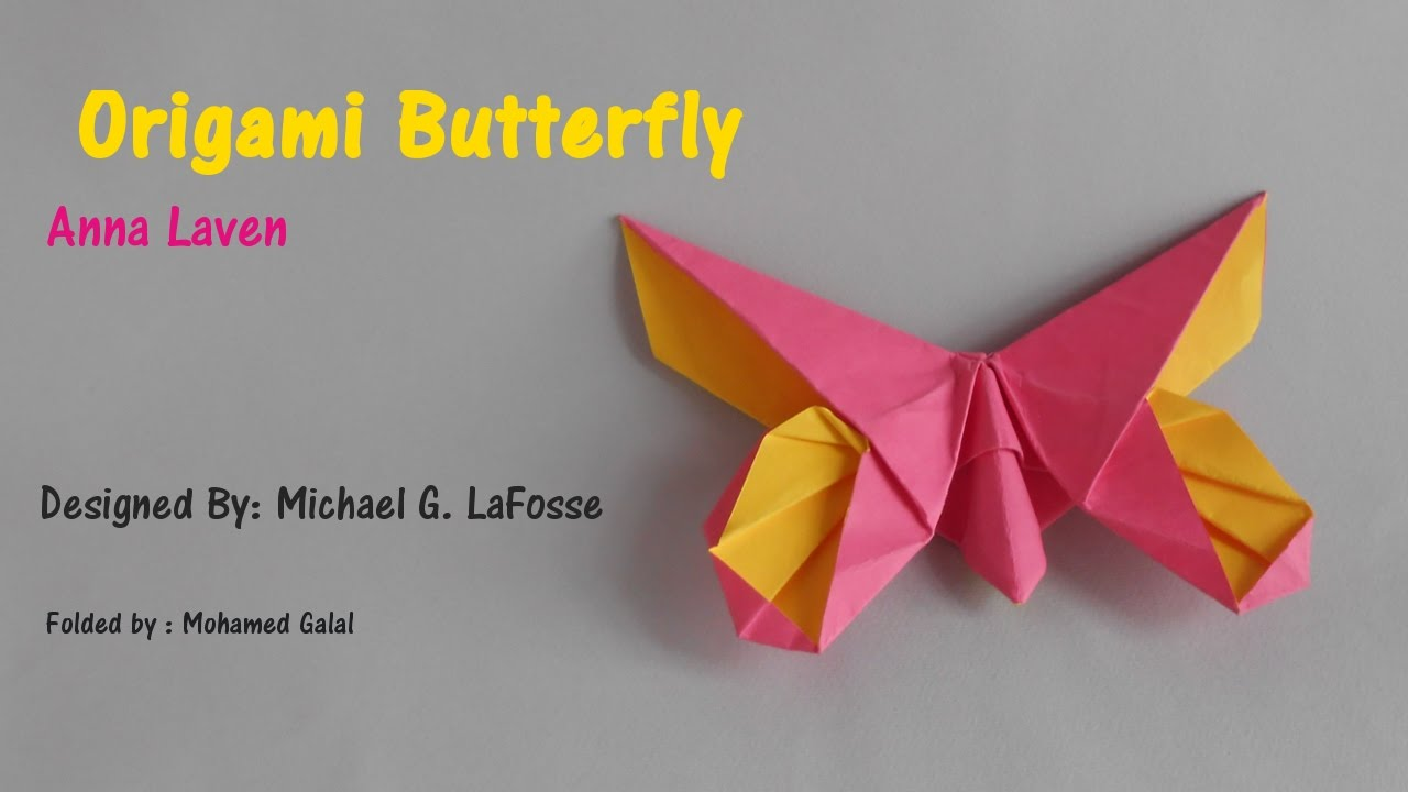Origami Butterfly - Anna Laven by Michael G LaFosse - YouTube - photo#36