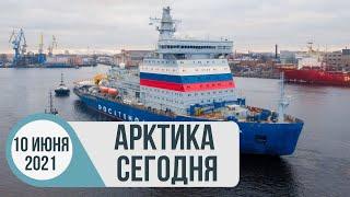 Арктика сегодня: ледоколостроение, резиденты АЗРФ, рыболовство