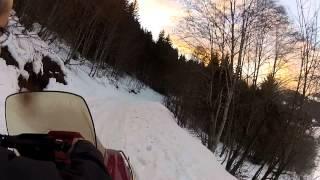 le chalet la moto neige