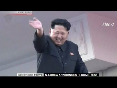 "Japanese News Coverage Of North Korea ""Hydrogen Bomb"" Test"