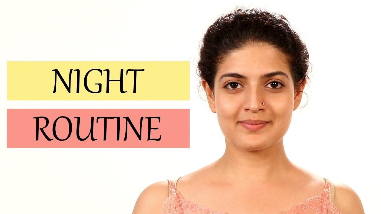 Night Time Skincare Routine  Beauty Tips for Healthy & Glowing Skin  #ShemarooLifestyle