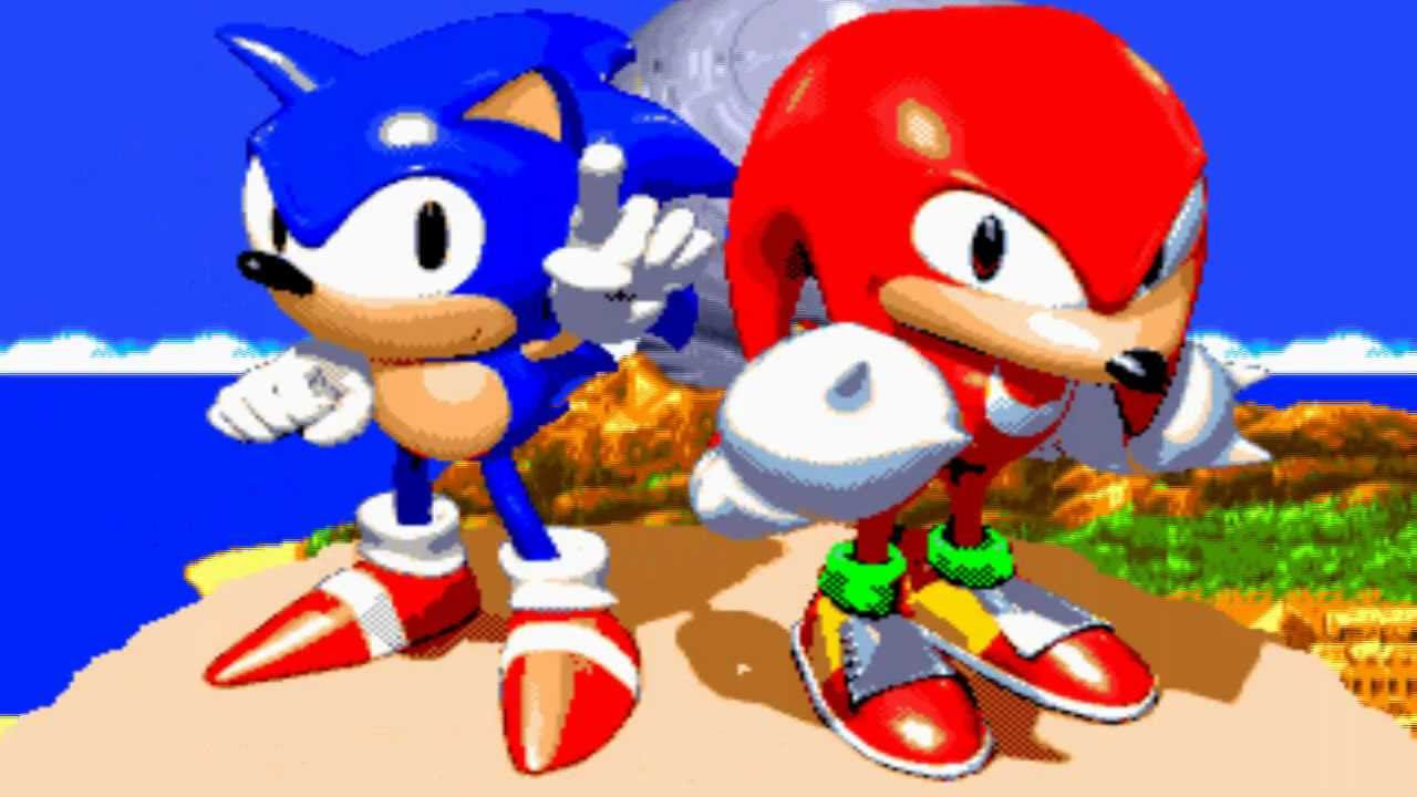 Sonic Amp Knuckles Intro Hd Youtube