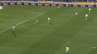 Mauricio Lemos vs Valencia ( UD Las Palmas 3 Valencia 1) 30/01/2017