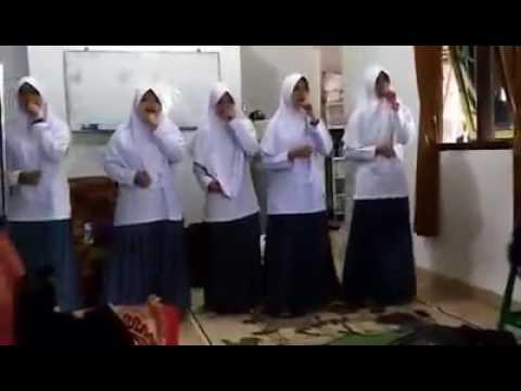 LA HAULA (SNADA) - Ashabulkahfi nasheed Siswi SMA PLUS AL-RAIHAN SANTRI DARUL FIKRI @Bogor