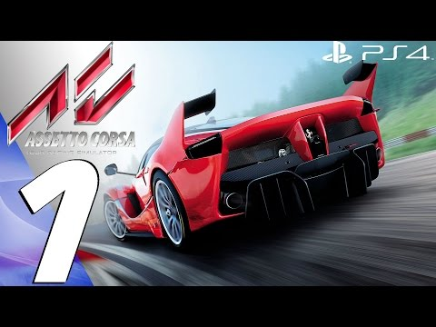 Assetto Corsa (PS4) - Gameplay Walkthrough Part 1 - Prologue (Full Game) FIRST RACES