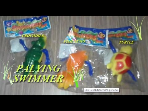 Playing  Swimer Animal | mainan hewan bisa berenang bersama jihan naura