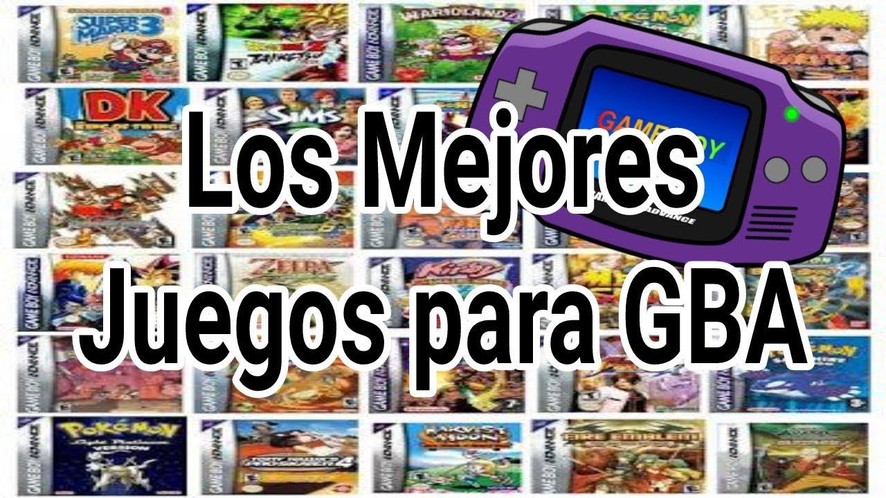 Los Mejores Juegos Para Gba En Espanol Link De Descarga Youtube