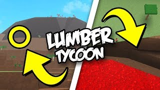 HOW TO GLITCH BEHIND THE VOLCANO IN LUMBER TYCOON 2