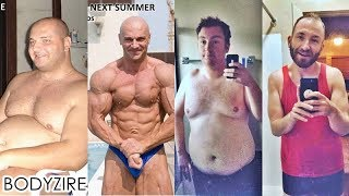Amazing Men Weight Loss Transformation Male Fat To Muscle Fit Motivation Before And After