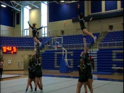 2017 GSC Acrobatics & Tumbling vs Georgetown College March 19