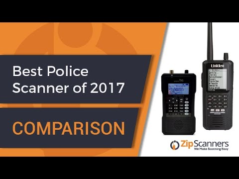 Best Police Scanner of 2017 | Comparison