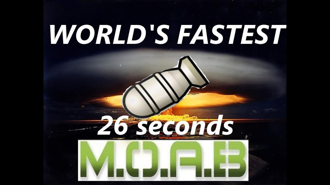 MW3 WORLDS FASTEST MOAB IN INFECTED 26 SECONDS Modern Warfare 3