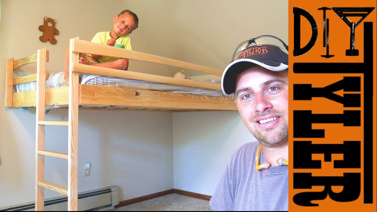 40 Ash Loft Bed Save Space And Money Youtube