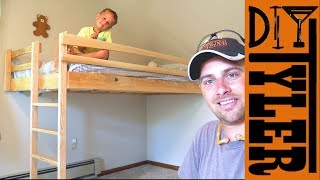 $40 Ash Loft Bed!! SAVE SPACE AND MONEY