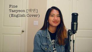 Gambar cover TAEYEON (태연) - Fine [English Cover]