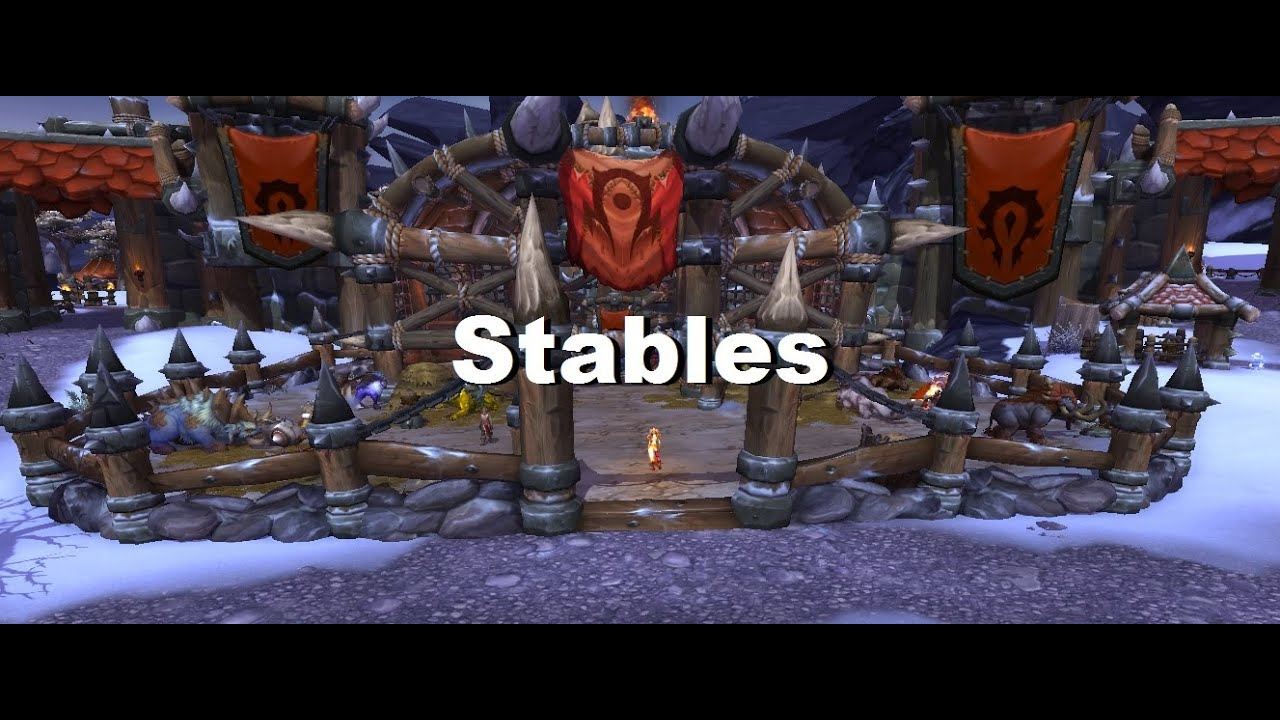 Garrison guide stables level 3 mounts rewards and perks wow wod garrison guide stables level 3 mounts rewards and perks wow wod malvernweather Image collections